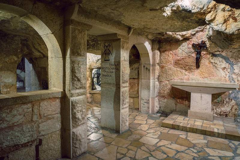 Church of Nativity Basement Altar