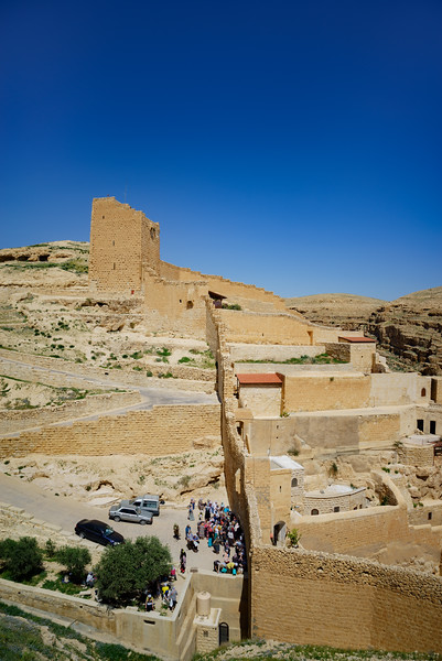 Gates of Mar Saba Monastery