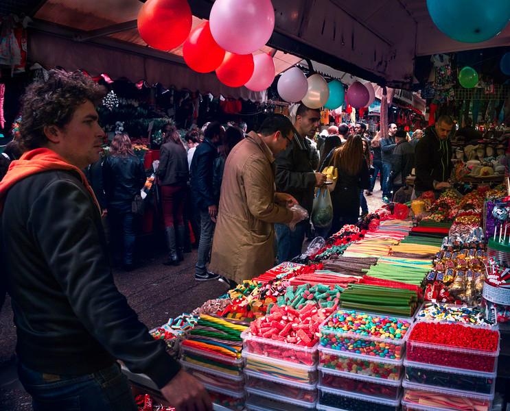 Markets at Purim festival