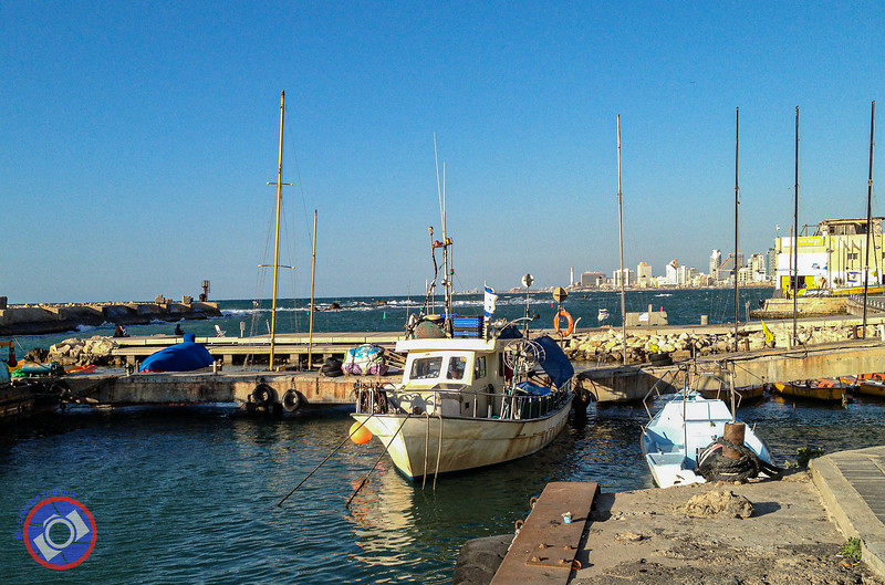 The Port of Jaffa Used by Small Fishing Vessels and Similar Craft (©simon@myeclecticimages.com)