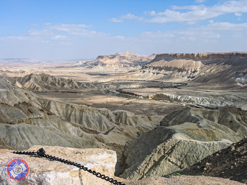 One of the Craters that Dot the Negev (©simon@myeclecticimages.com)