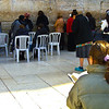 Quiet prayer at the Western Wall