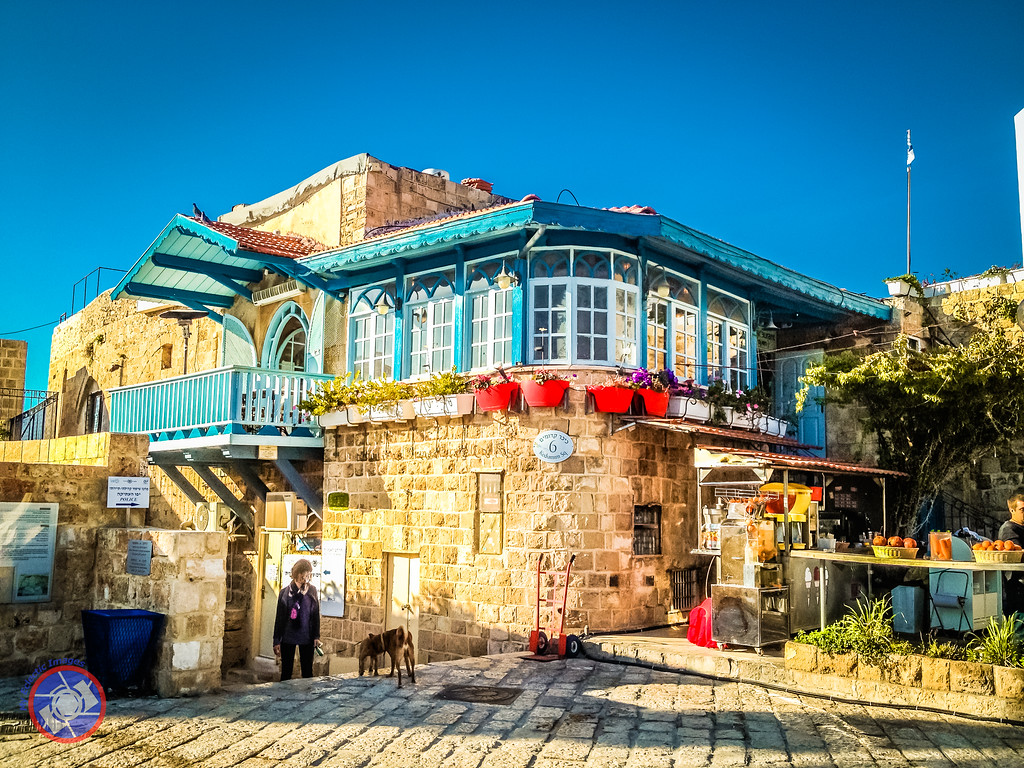 House on the Main Square in Jaffa, Israel (©simon@myeclecticimages.com)