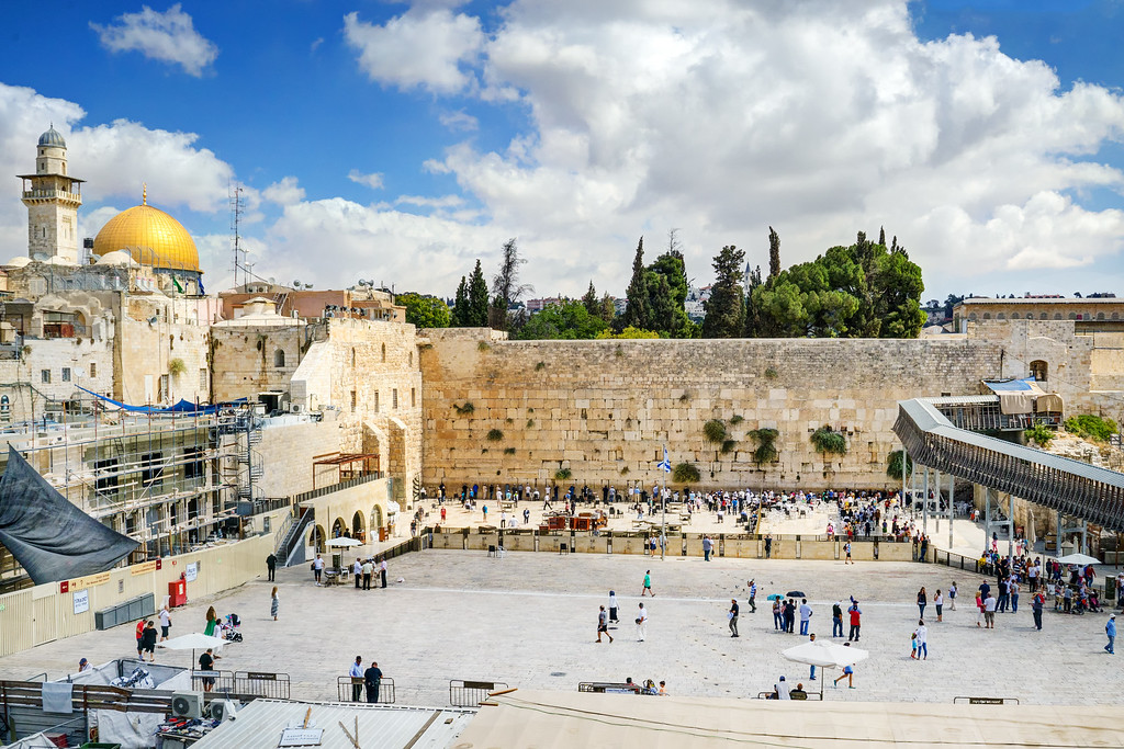 The Western Wall Jerusalem