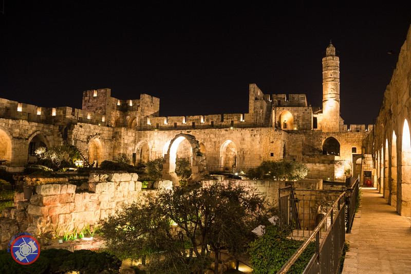 Courtyard of the Tower of David Prior to the Night Spectacular (©simon@myeclecticimages.com)