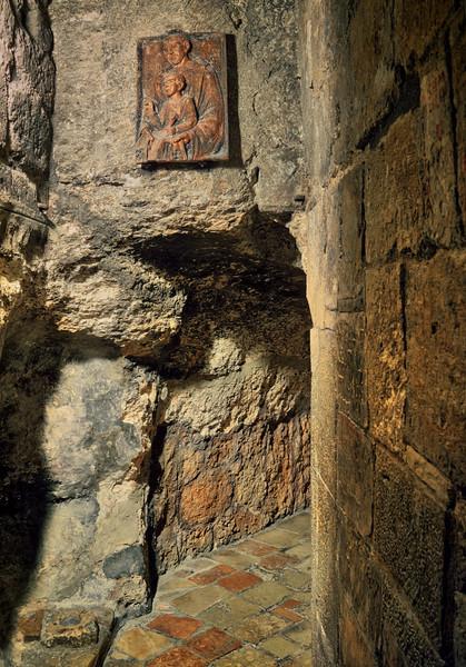 Church of Nativity Basement Corridors