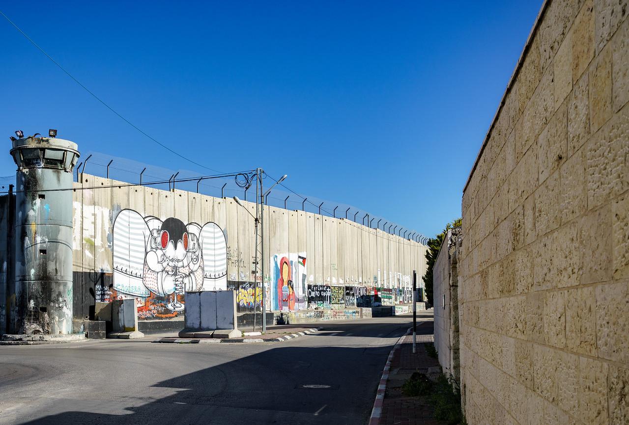 Bethlehem Border Walls