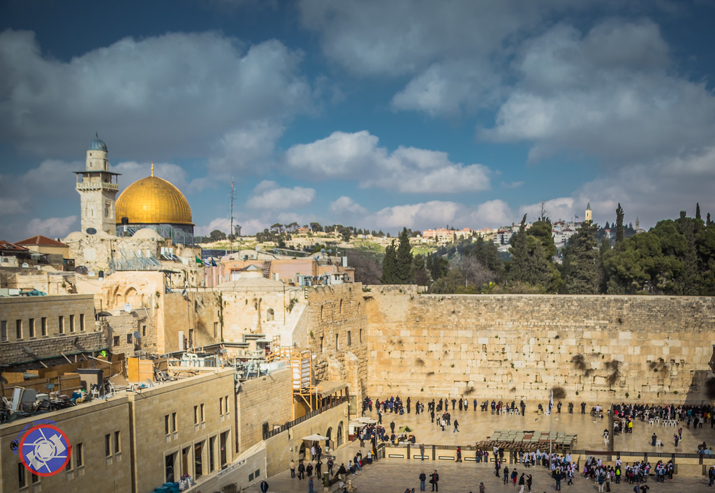 The Wailing Wall and dome of the Rock in Jerusalem (©simon@myeclecticimages.com)