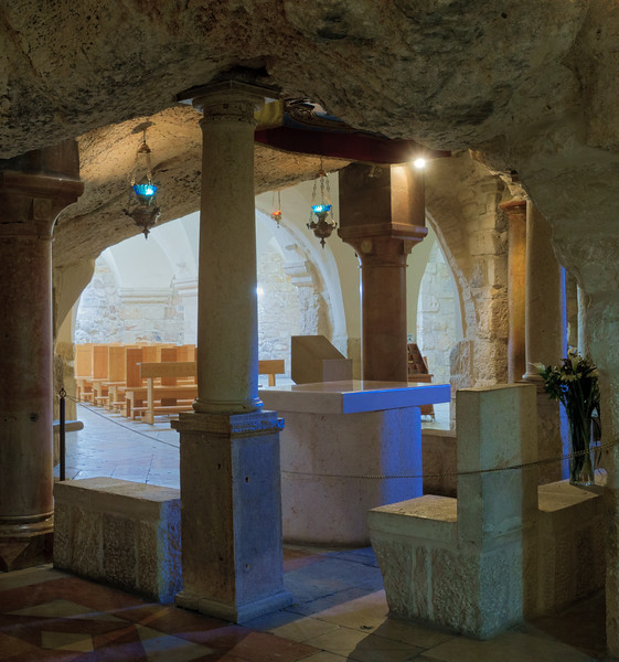 Bethlehem Milk Church Altar
