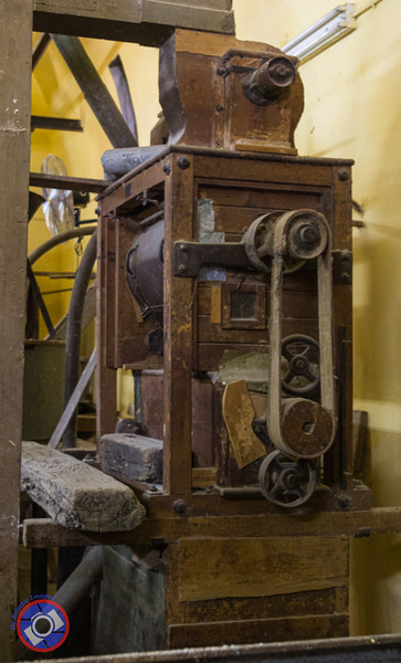 An Old Machine Still Being Used to Grind Fresh Spices in the Elbabour Galilee Mill in Nazareth (©simon@myeclecticimages.com)