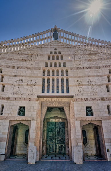 Basilica of the Annunciation Entrance
