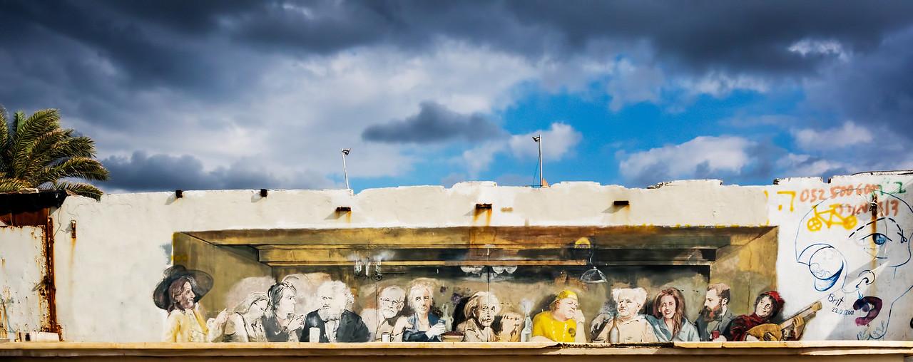 Jaffa Beach Wall Mural
