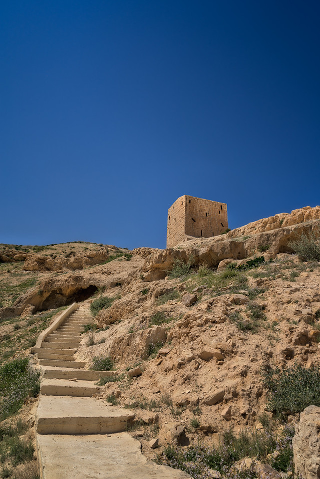 Location Planning - Mar Saba Women's Tower