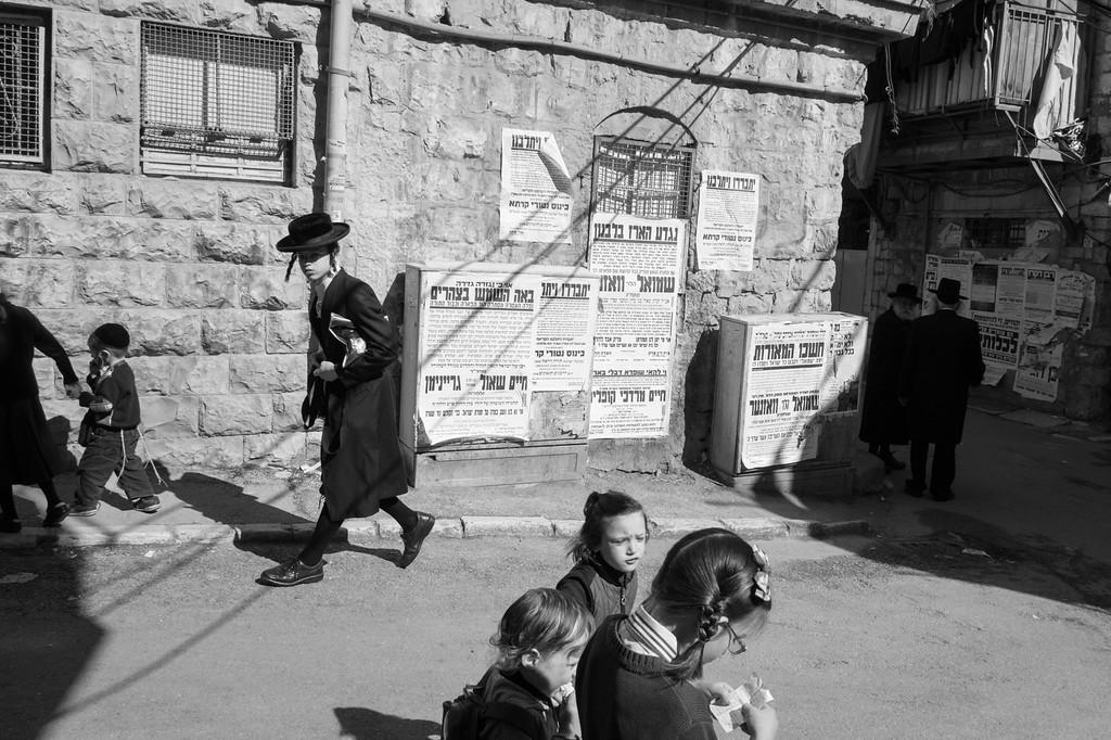 Ultra-Orthodox Jewish area of Mea She'arim