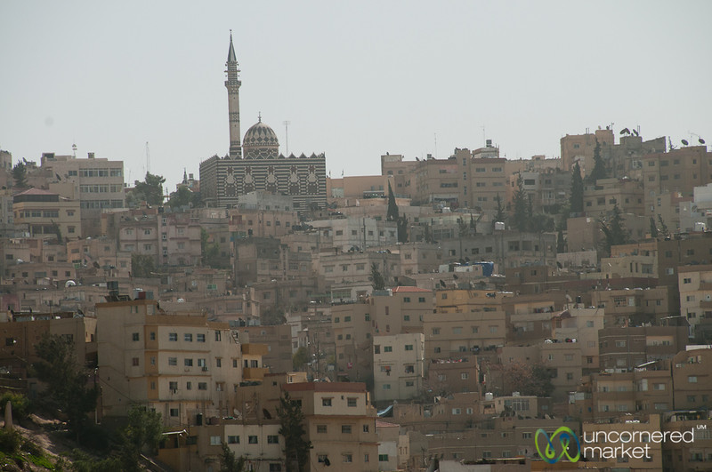 Abu Darweesh Mosque and Downtown Amman - Jordan