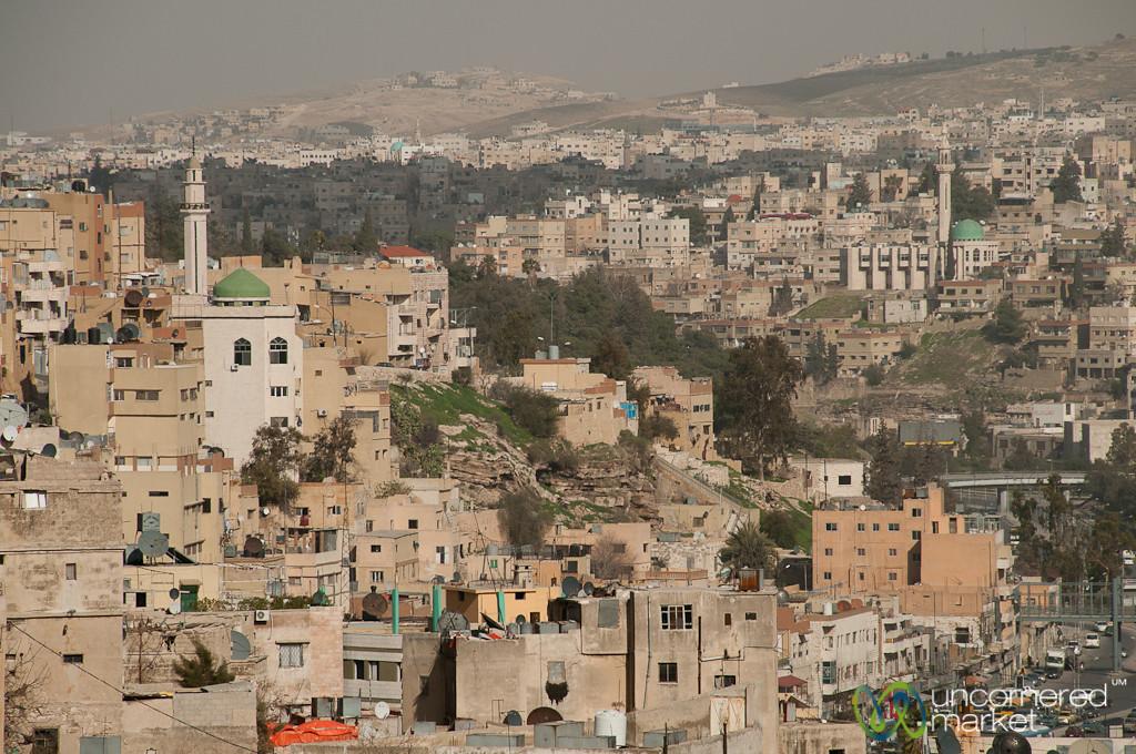 View from Downtown Amman, Jordan