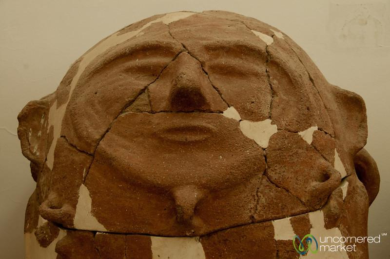 Moabite Sarcophagus at Citadel Museum - Amman, Jordan