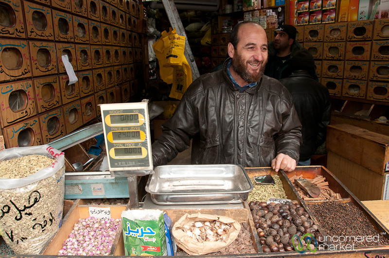 Spice Master Who Knows Many Cures - Amman, Jordan