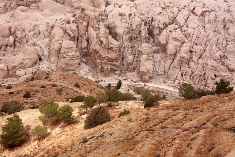 trail view walking towards the SIQ