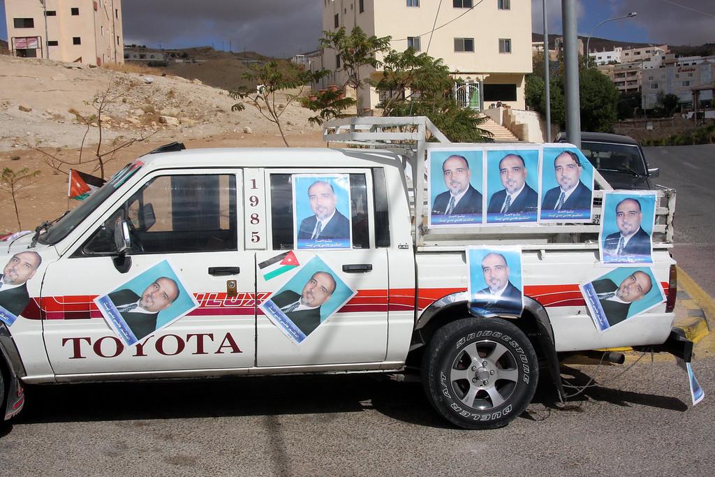 Election activity in Nov 2007.
