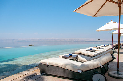 Lounge Chairs at the Kempinski Dead Sea Resort in Jordan