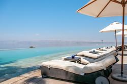 Poolside view of the Kaminski Dead Sea