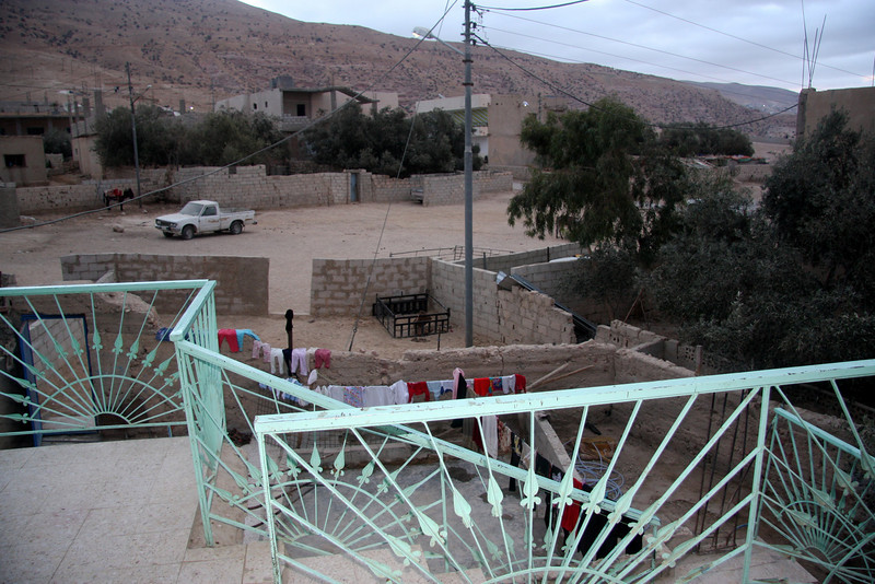 the village of Umm Syhum nr Wadi Musa (Petra)