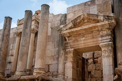 The Roman Ruins of Jerash, Jordan