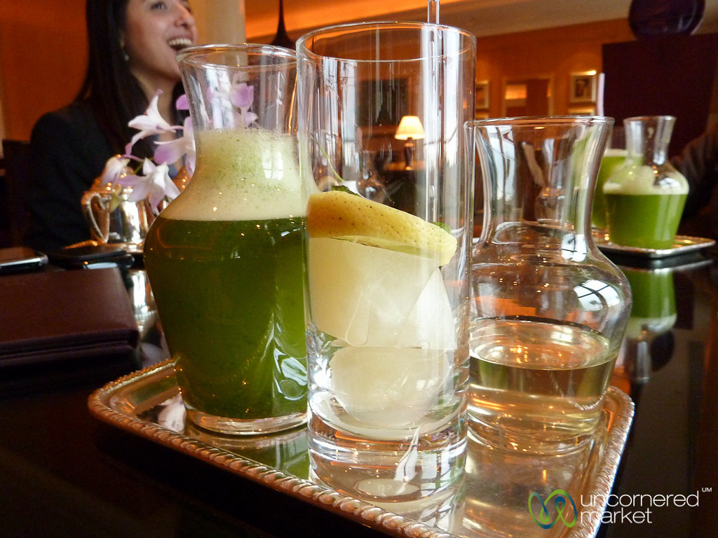 Lime-Mint Juice - Amman, Jordan