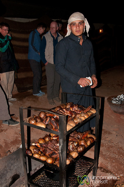 Zarb, Bedouin Barbecue - Wadi Rum, Jordan