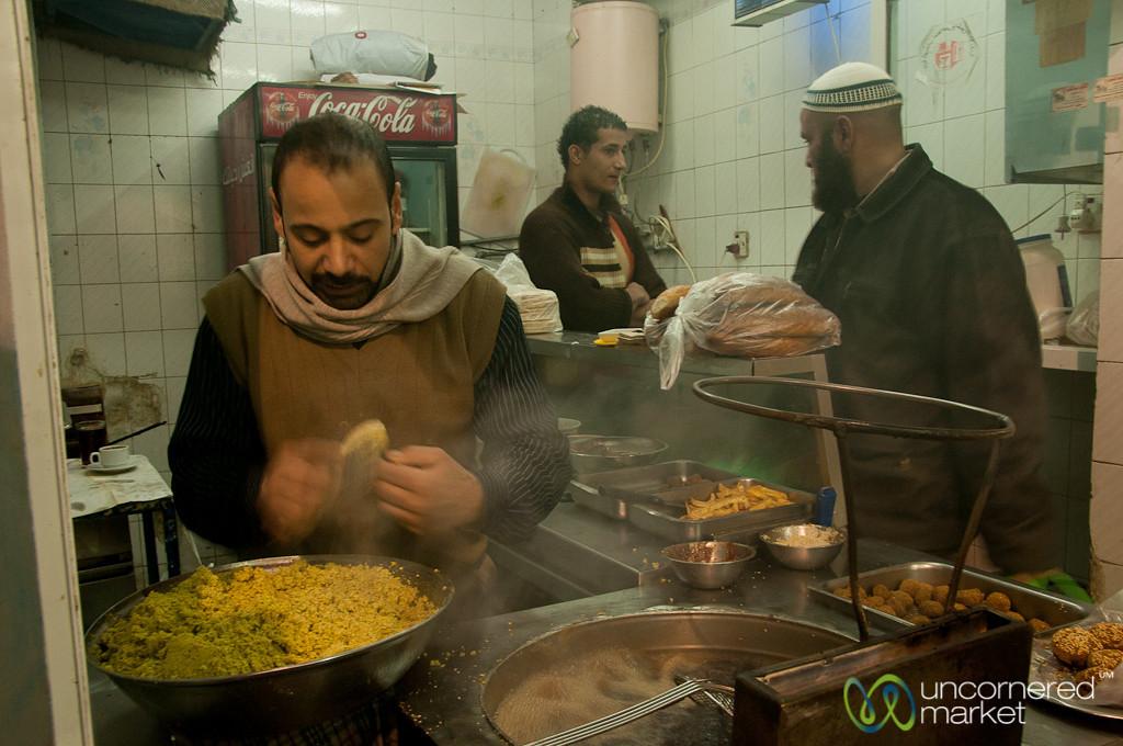 Falafel Making Machine  - Amman, Jordan