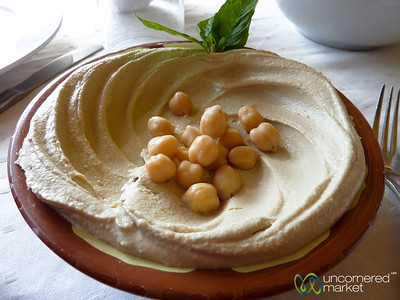What is Lunch in Jordan Without Hummus?