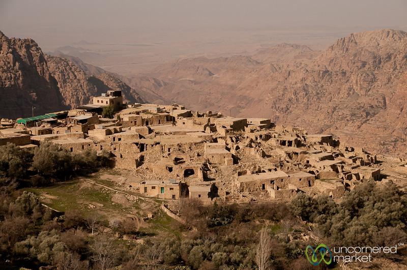 View of Dana Village in the Early Morning - Jordan