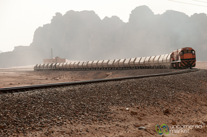 A Train Across the Desert - Wadi Rum, Jordan