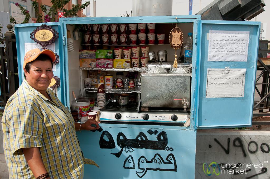Aqaba's Best Coffee at Um Ahmad - Jordan