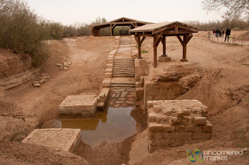 Jesus' Baptism Sight - Bethany Beyond the Jordan