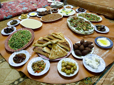 Endless Eating Options in Jordan
