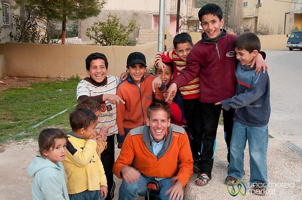 Hanging With the Kids of Rasun, Jordan