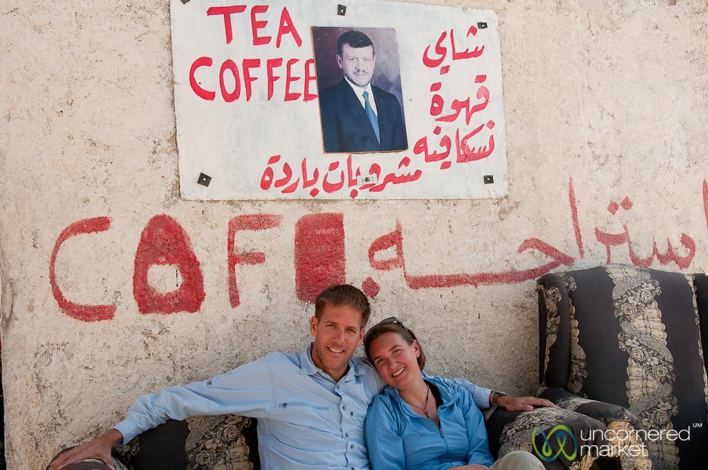 Resting Below the King - Jordan