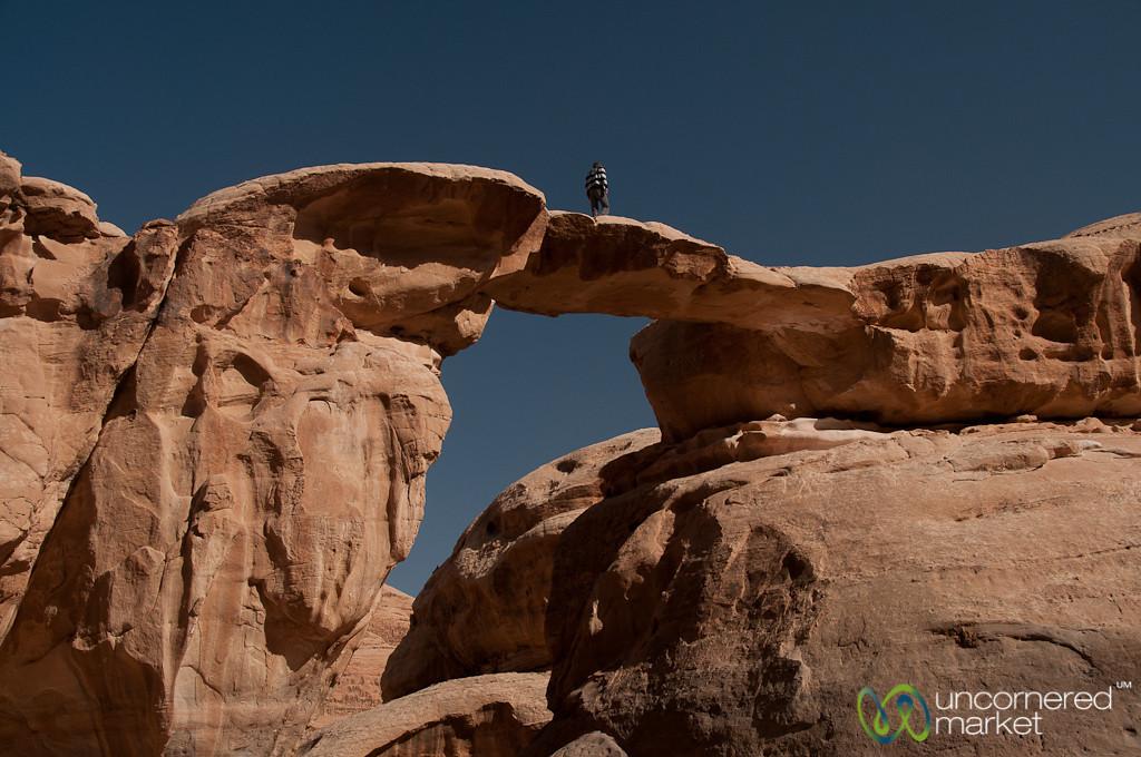 Rock Bridge - Wadi Rum, Jordan