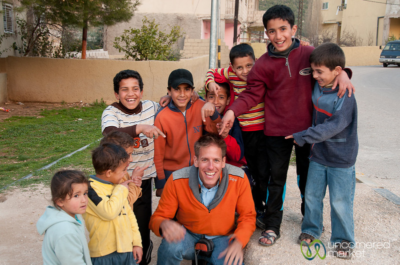 Hanging With the Kids of Rasun, Jordan