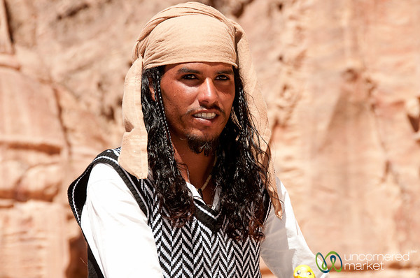 The Johnny Depp of Petra - Jordan
