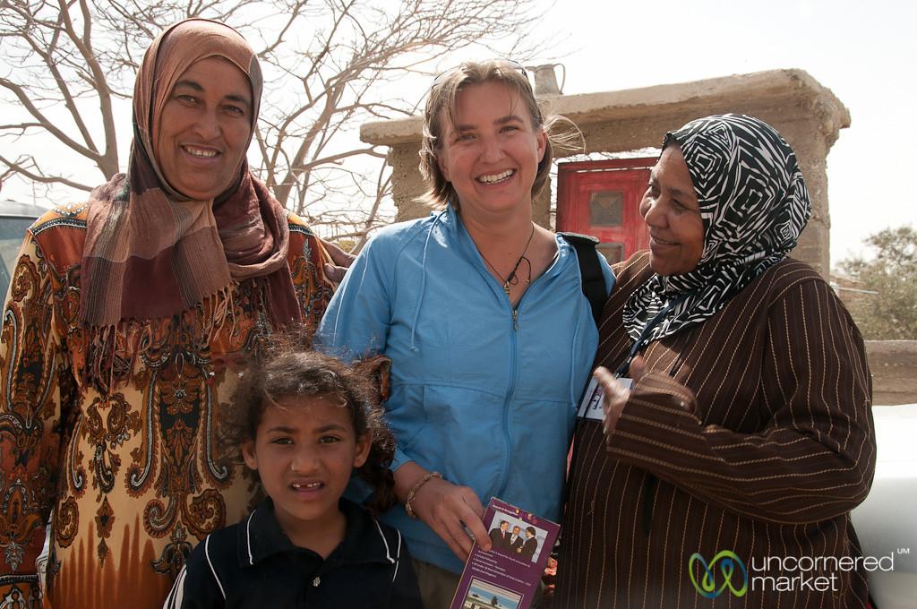 Audrey with Women of the Zikra Initiative - Jordan