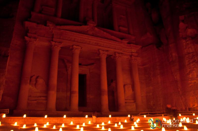 Enjoying Time at Petra By Night - Jordan