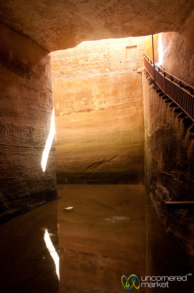 The Nebathean's Impressive Water System - Little Petra, Jordan