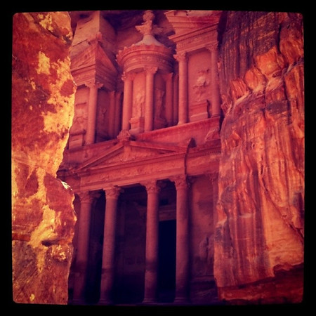 Treasury at Petra, Jordan