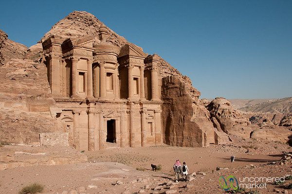 Walking to the Monestary - Petra, Jordan