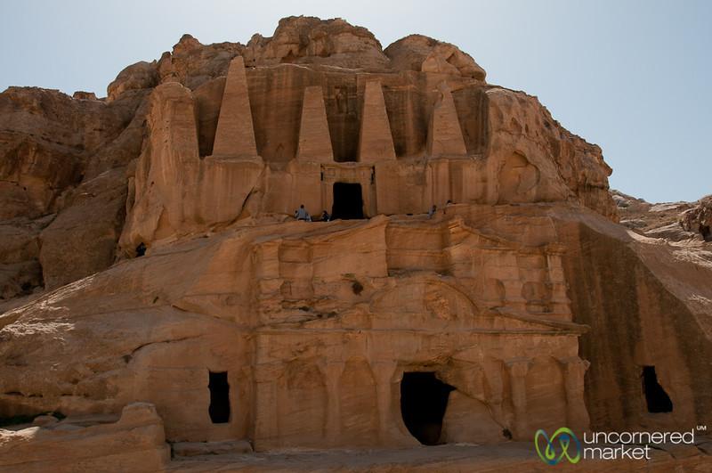Tombs and Temples at Petra, Jordan