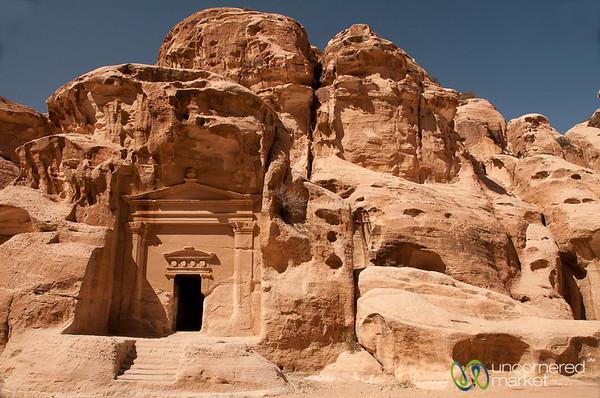 A Tomb at Little Petra (Al Beidha) - Jordan