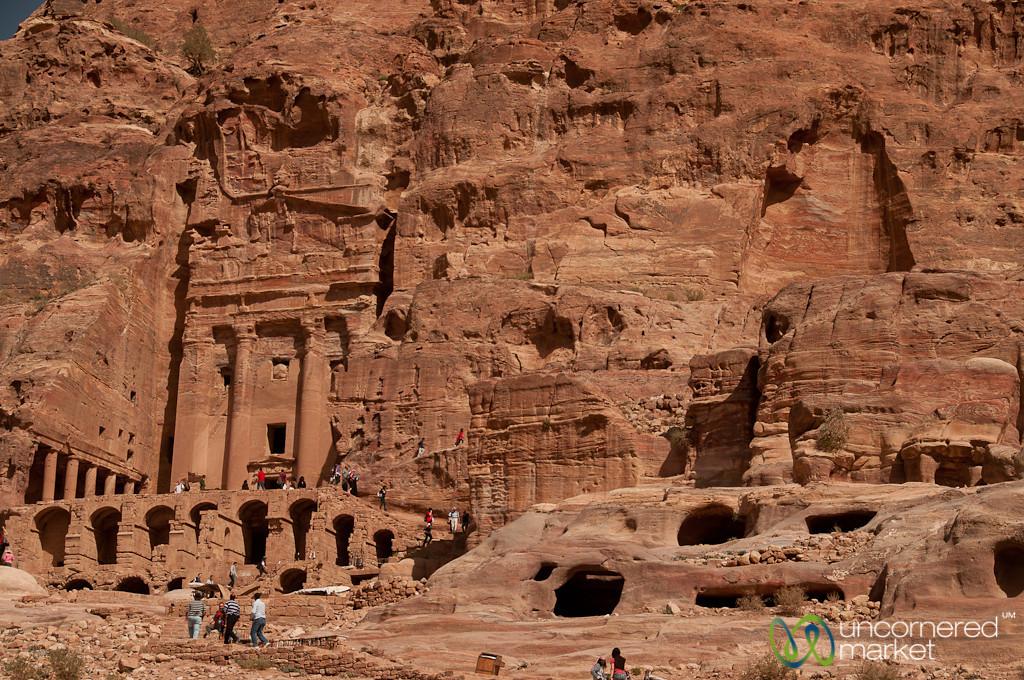 The Royal Tombs at Petra, Jordan